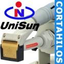 Unisun Máquina de cortahilos de succión industrial