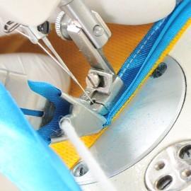 Aparato Embudo ribeteador p/máquina de coser industrial