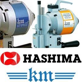 Refacciones p/ Todo Máquina Cortadora de tela de Industiral Tipo Hashima K.M. Original