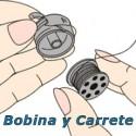 Bobina y Carrete P/Máquina de Coser de Industrial y Familiar