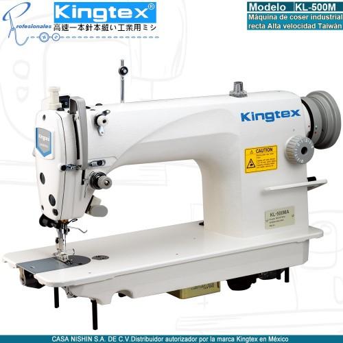 KL-500M Máquina de coser recta industrial alta velocidad marca kingtex