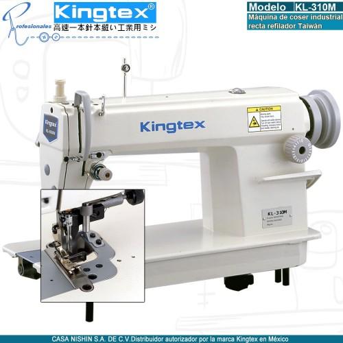 KL-310M Máquina de coser recta refilador derecho industrial marca kingtex