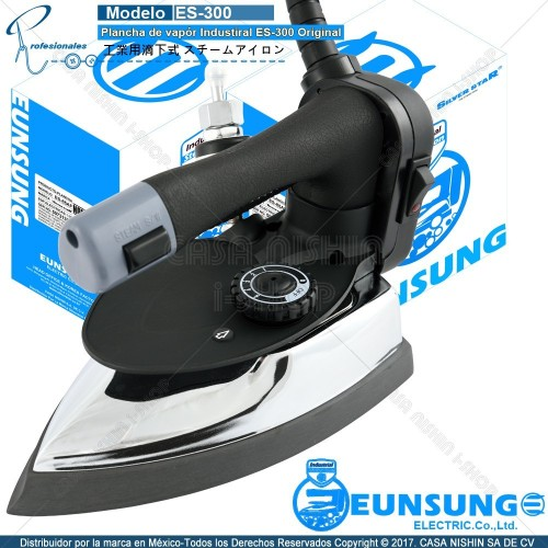 ES-300 Plancha de vapór Industrial SilverstaR ES-300 Original