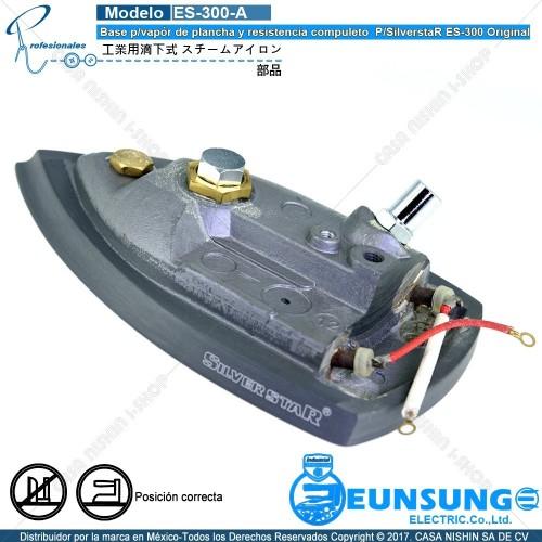ES-ES300-A Base p/vapór de plancha y resistencia compuleto  P/SilverstaR ES-300 Original