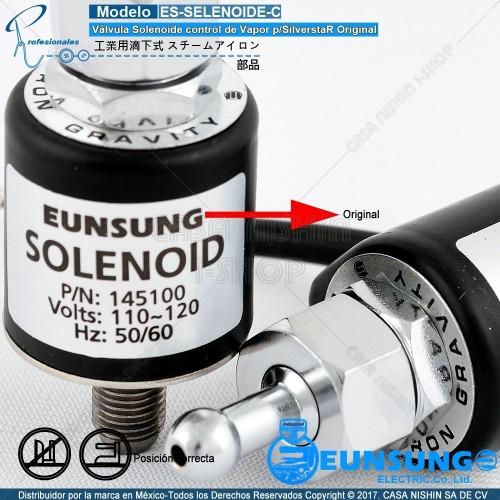 ES-SOLENOIDE-C Válvula Solenoide control de Vapór p/SilverstaR Original
