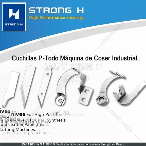 Cuchilla P/Máquina de Coser Industrial Marca Strong H