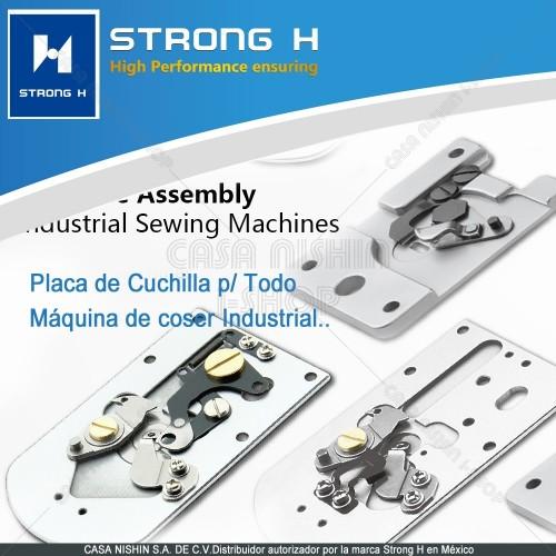 Cuchilla de Placa P/Máquina de Coser Industrial Ojaleadora y Botonadora Marca Strong H