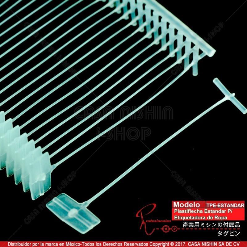 TPE-xx mm Plastiflecha de Nylon Estándar P/Etiquetadora de Ropa