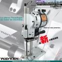 GEM-627 Cortadora de cuchilla recta de 8 y 10 pulgadas Tipo Eastman Marca Wayken