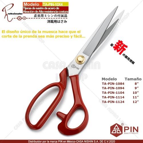TA-PIN-10X4~11X4 Tijeras de sastre de acero de aleación de Alta Resistencia