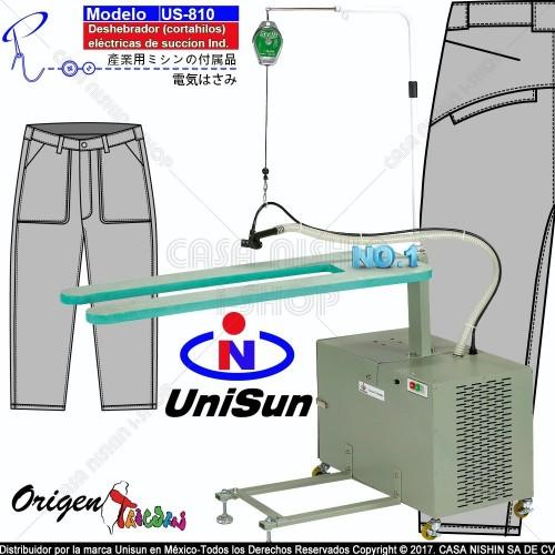 US-810 Cortahilos deshebrador eléctricas-pantalones industrial